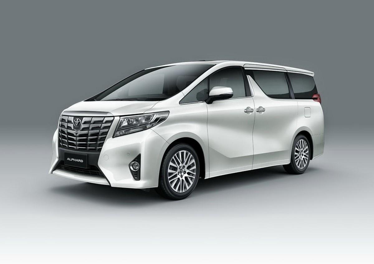 новый Toyota Alphard