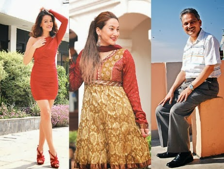 most fashionable nepali celebrities