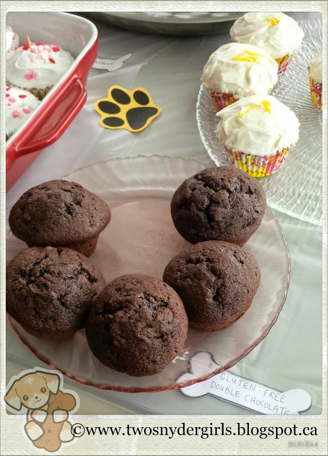 Gluten free double chocolate cupcakes