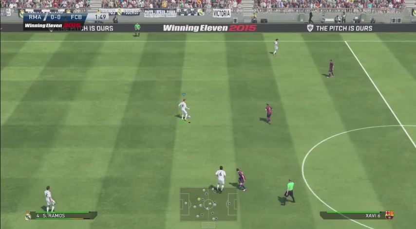 Pro Evolution Soccer (PES) 2015 Screenshots
