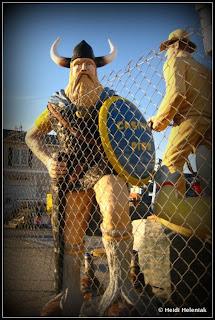 casino pier fiberglass viking figurine, seaside heights, nj boardwalk amusement pier hurricane sandy