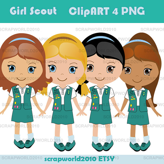 Girlscout with a special offer 2