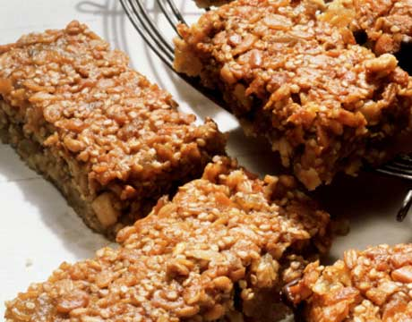 the fruit club healthy oatmeal fruit bars recipe