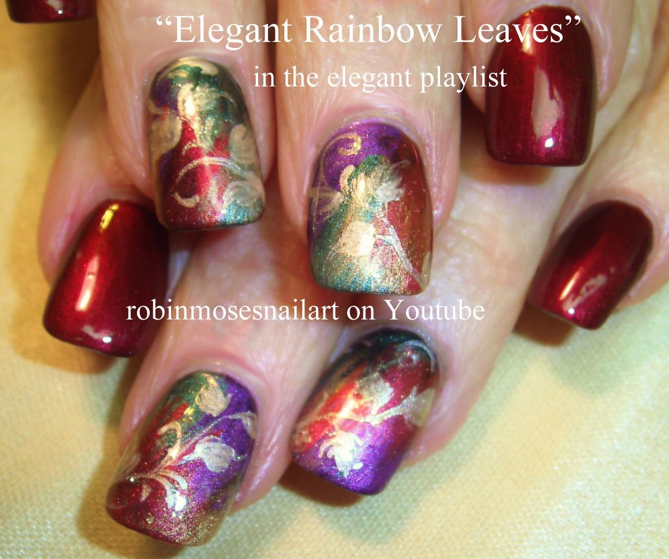 Robin moses nail art nail art fall nail art fall designs elegant fall nail art eyeshadow technique prinsesfo Choice Image