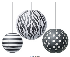 http://www.teachercreated.com/products/big-bold-black-white-round-paper-lanterns-77101