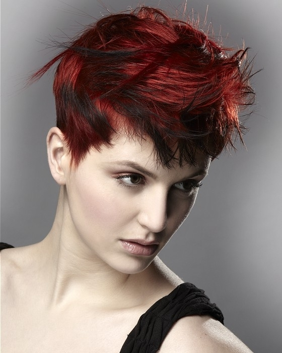 The Glamorous Short Punk Hairstyles For Women Photograph