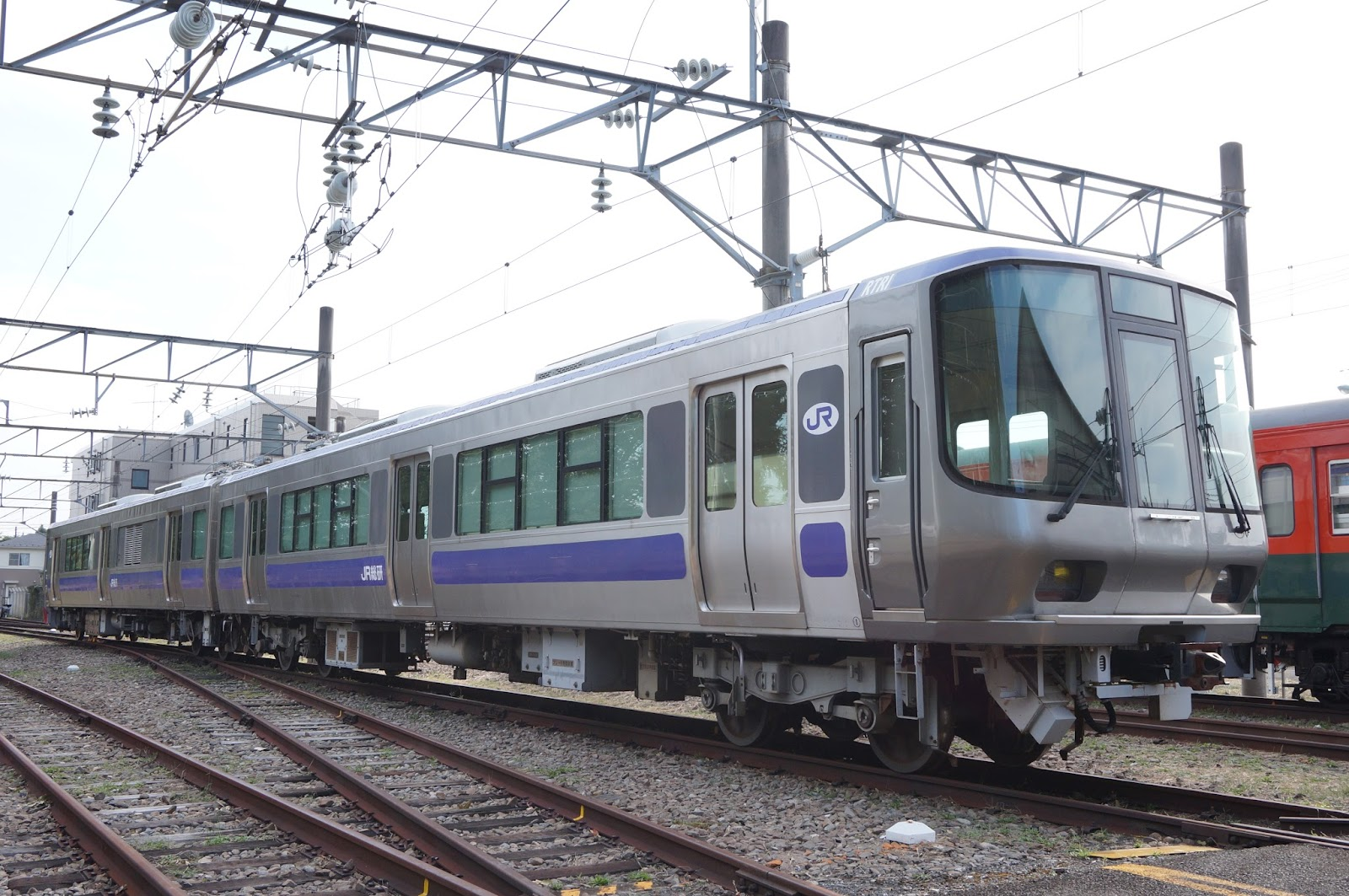 鉄道総研のR291系試験車