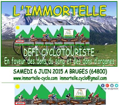L'immortelle randonnée cyclotouriste 2015