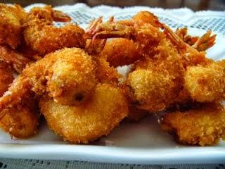 Cara membuat udang goreng crispy