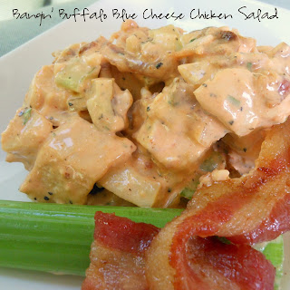 Buffalo Blue Cheese Chicken Salad