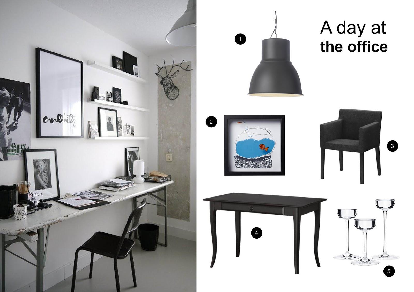 Annemieknieboer.com : all ikea: cool office