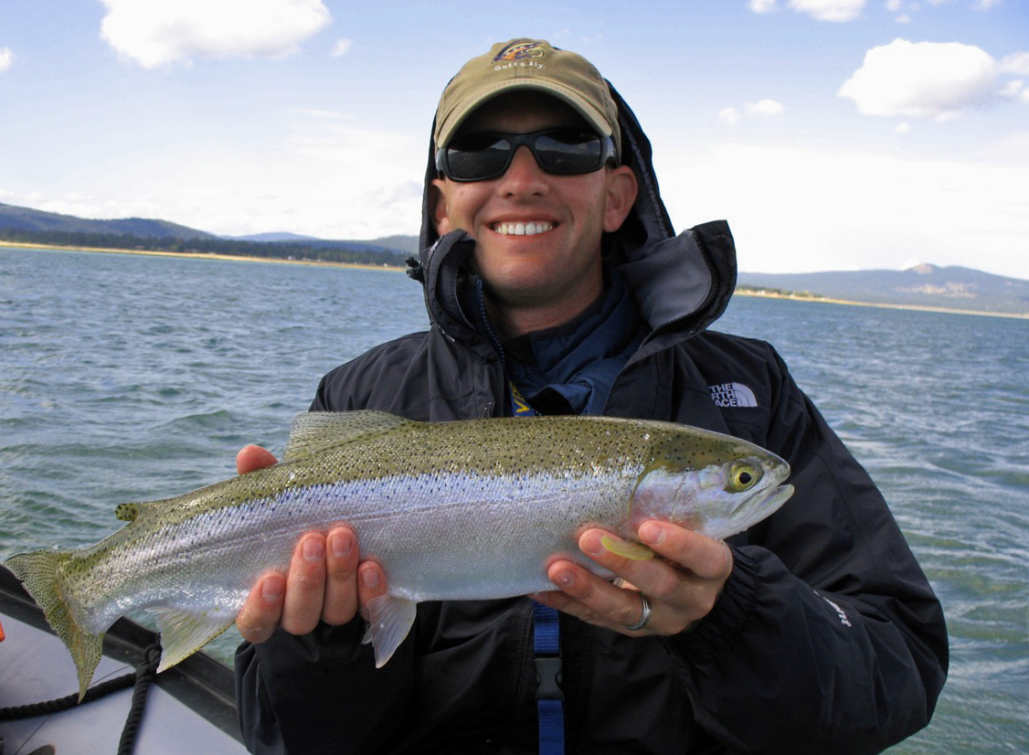 Jon baiocchi fly fishing news tying gary lafontaine 39 s for Jon b fishing