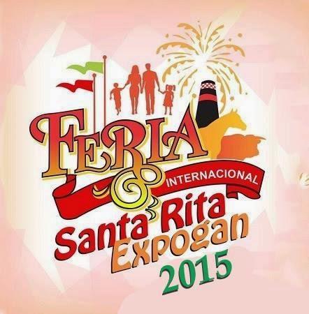 Feria Santa Rita Expogan 2015 palenque y teatro dle pueblo