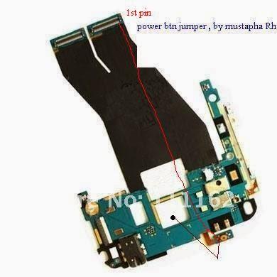 Jumper Power Switch HP HTC Sensattion