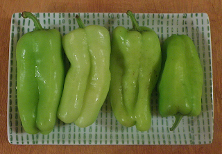 Plate of Armenian Bell Peppers