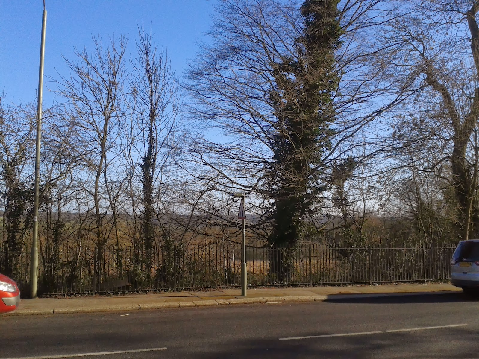 Mill Hill Village Looking on to Open Fields