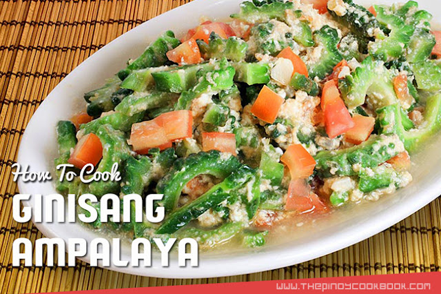 Ampalaya Ginisa recipe Easy Tutorial Diabetes How To Treat How To Cook Ginisang Ampalaya Easily Recipe & Tutorial