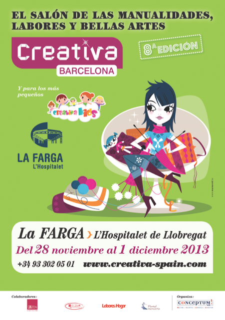 CARTEL OFICIAL SALON CREATIVA BARCELONA 2013