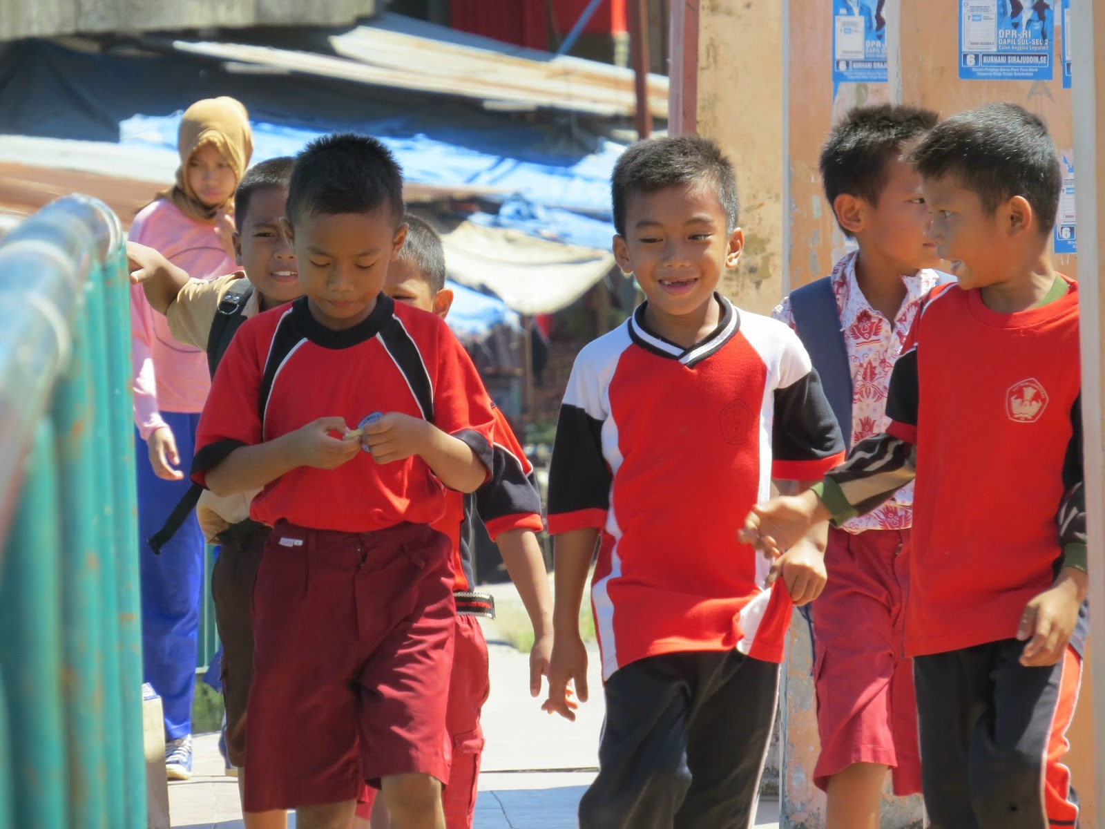 Wajah Polos Generasi Bangsa (Foto by Admin)