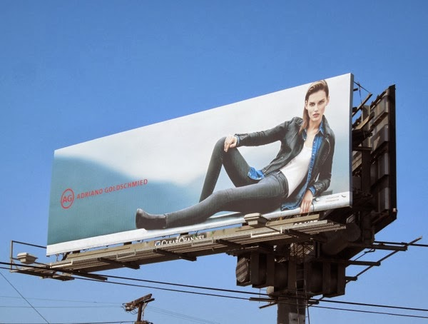 AG jeans F/W 2013 collection billboard