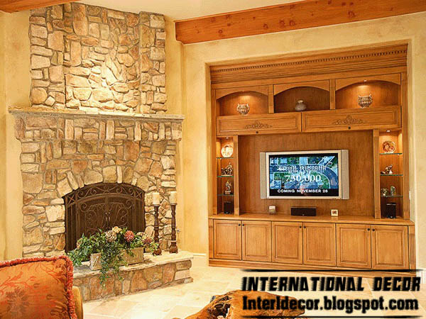 Interior stone wall tiles designs ideasModern stone tiles