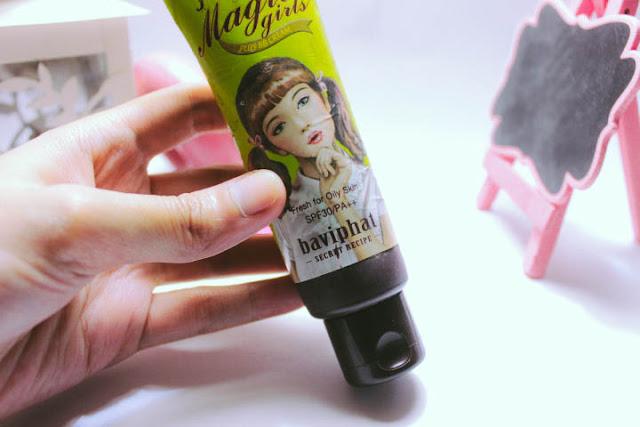 Baviphat BB Magic Girls Plus BB Cream Review