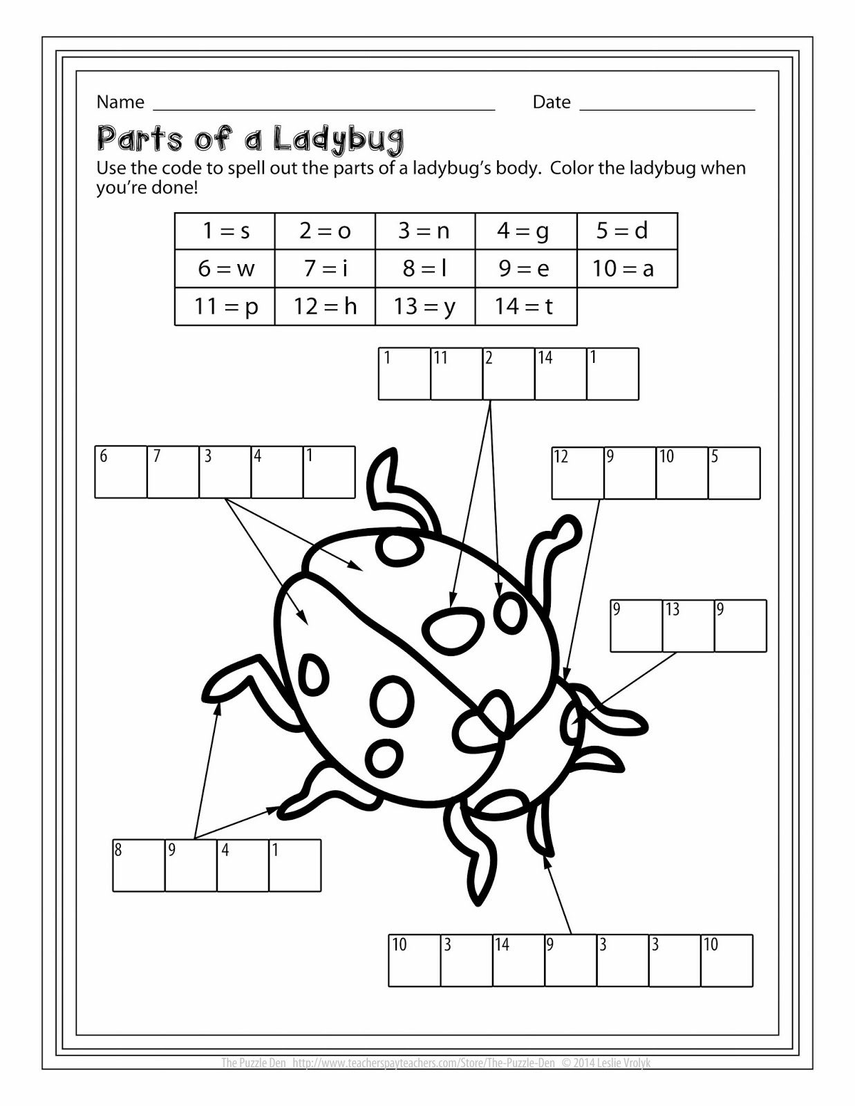 The puzzle den perplexing puzzles 12314 ladybug label it pooptronica Gallery