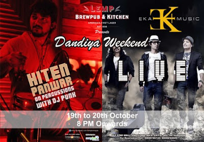 Dandiya celebration on this weekend in Delhi