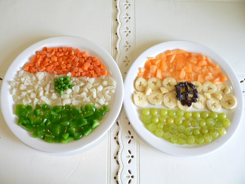 Indian independence day idea round up putti 39 s world - Kids fruit salad decoration ...