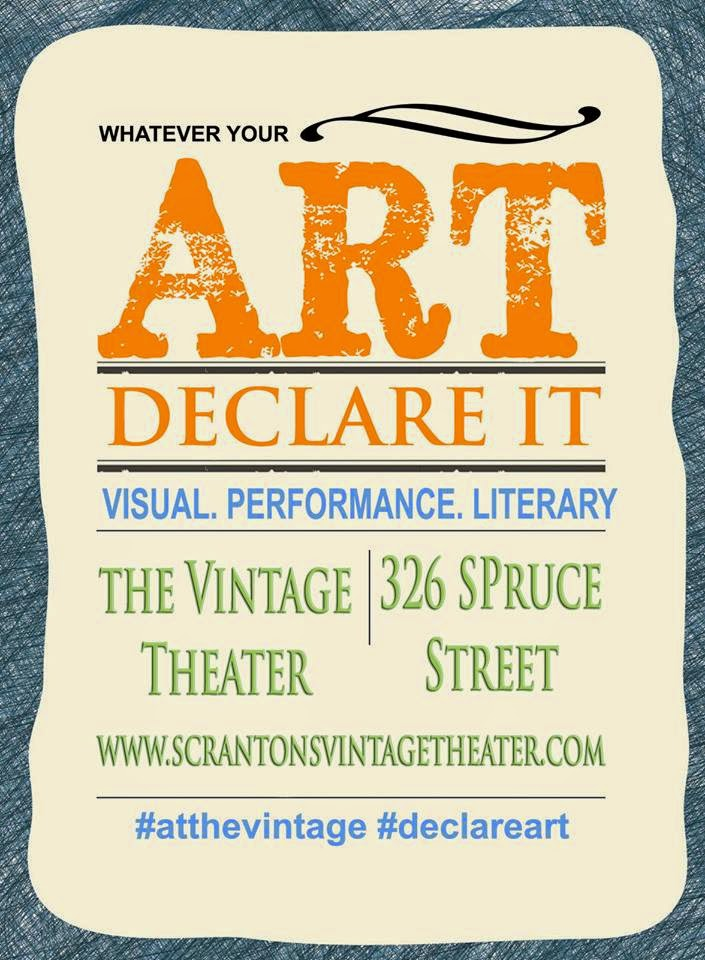 Declare your Art at the Vintage!