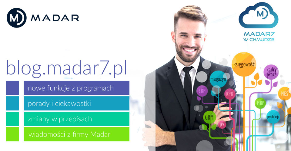 BLOG MADAR - nowe funkcje w programach, porady i ciekawostki, zmiany w przepisach