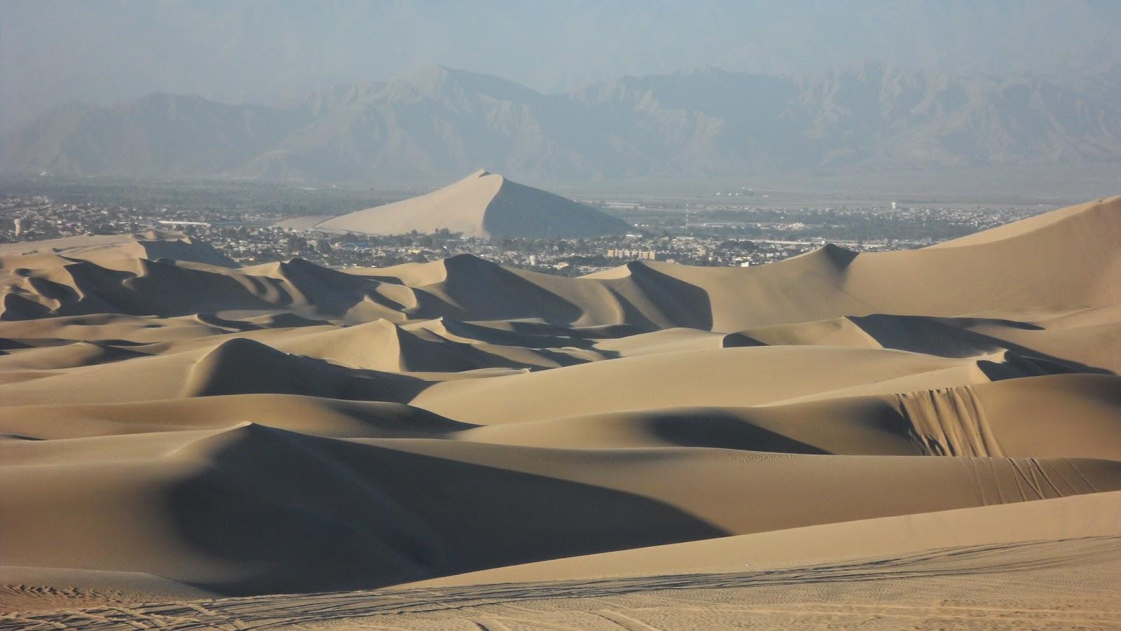 Desierto, Dunas, Formas, Sombras