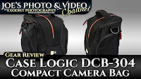 Case Logic DCB-304 Compact Camera Bag | Gear Review