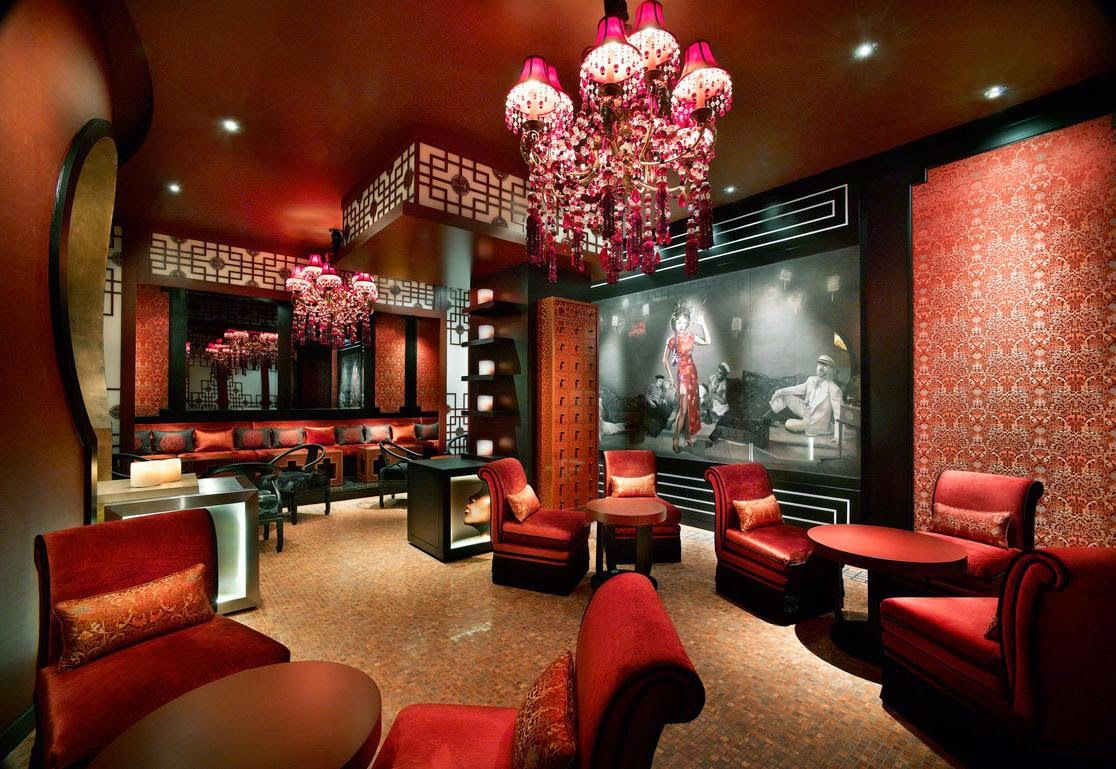 Chinese Interior With Red Themes Decorating Chinese Style Interior