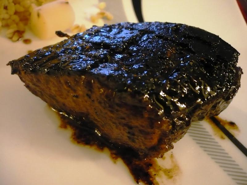 Celle qui cuisinait ou le plaisir de cuisiner magret de canard marin m lasse de grenade sumak - Cuisiner le foie de veau ...