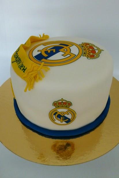 CakeSophia: Real Madrid cake