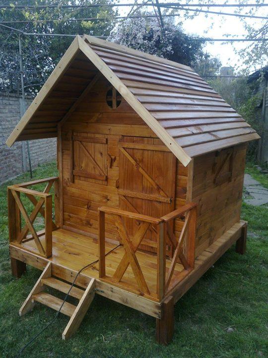 Juegos de madera para el jard n casitas infantiles for Casitas de jardin de madera