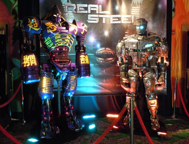 Animatronic Real Steel robots