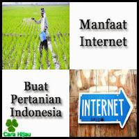 Manfaat Internet Buat Pertanian Indonesia