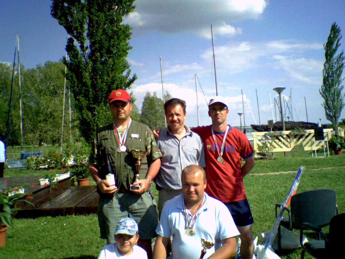 Első balatoni versenyünk anno 2008