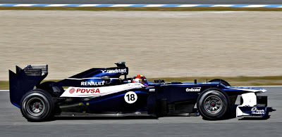 Williams to Miss First F1 Test Session of 2013