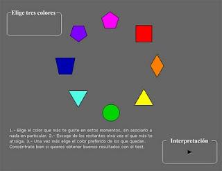 El test de 8 colores