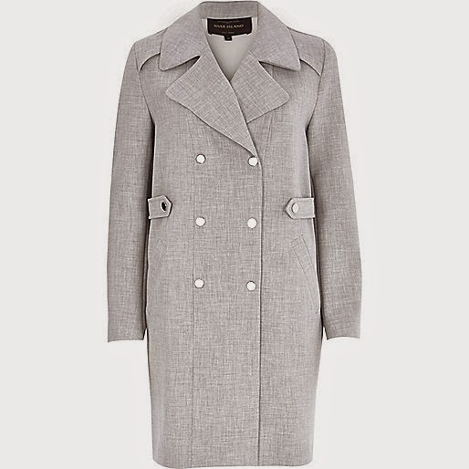 river island grey jacket, grey trenchcoat,