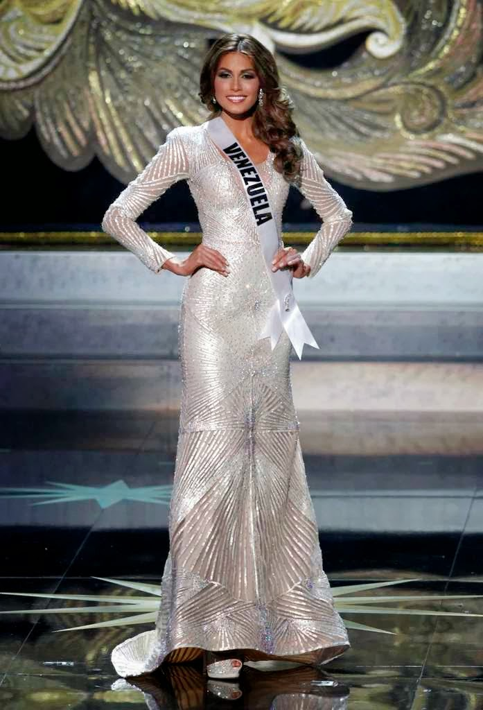 SASHES AND TIARAS.....Miss Universe 2014 Preliminaries Evening Gowns ...
