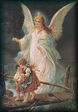 Anjo da guarda protetor