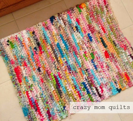 Susan's Quilt Creations: FUN STUFF: quilted boxes, crochet rugs ... : quilt rugs - Adamdwight.com