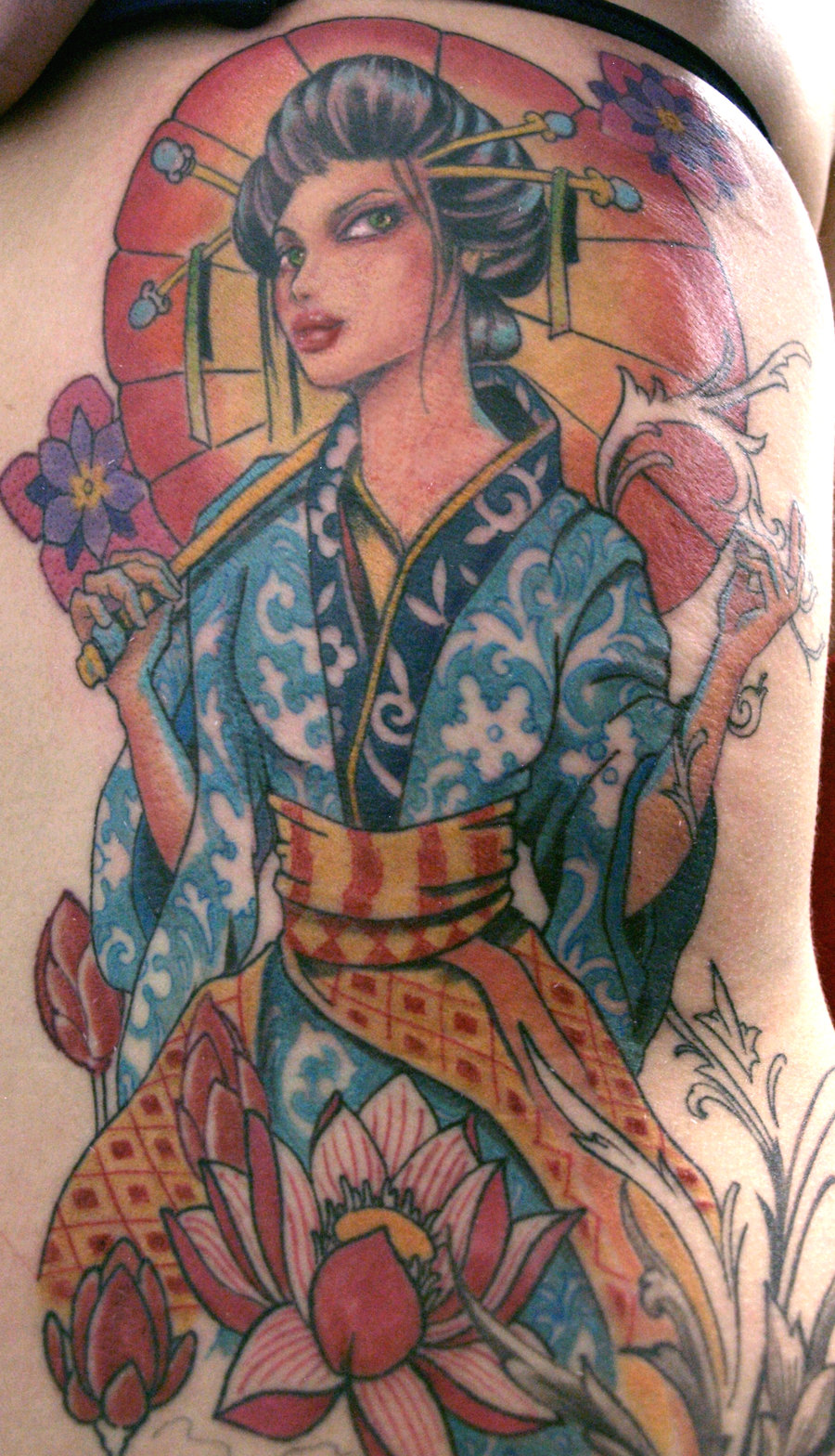 geisha tattoo photos