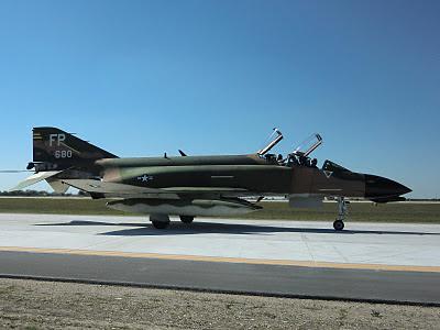Randolph Air Force Base 2011 Air Show: F-4D Phantom Taxing
