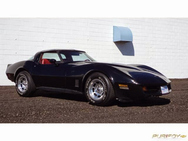 1981 Corvette at Purifoy Chevrolet