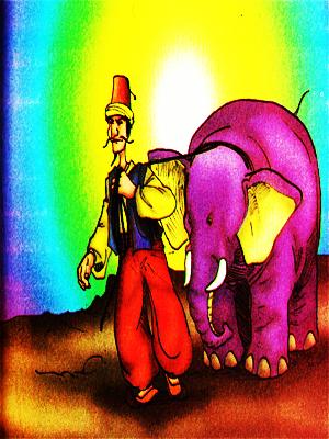 abu nawas, mengecoh gajah